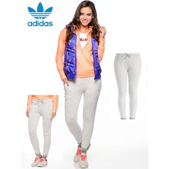 3f568498c9f6 ADIDAS Sweat Track Pants Roll Up Cuffs
